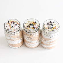 Load image into Gallery viewer, Full Moon Ritual Salt Soak. Manifestation Ritual Bath Salts w Rainbow Moonstone Crystal. - Lesley Saligoe Botanicals