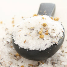 Load image into Gallery viewer, EASE Magnesium Bath Salts. Sea Salt and Magnesium Ritual Soak. Lavender. Chamomile.