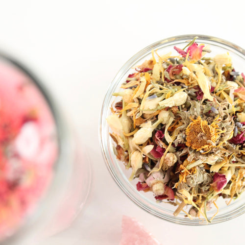 Herbal Blend. Love. Contentment. Self Like. Spiritual Bath. Floor Wash. Ritual Candle Dressing. Incense.
