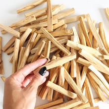 Load image into Gallery viewer, Palo Santo Stick. Natural Incense. Holy Wood. Space + Energy Clearing. Pack of 6.