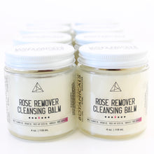 Load image into Gallery viewer, Rose Remover Cleansing Balm. Clean Beauty. Botanical Makeup Melter. Infused Oil Skin Salve.