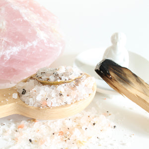 Love and Lust Bath Salts. Himalayan Pink Ritual Soak. Self Love Ritual Bath.