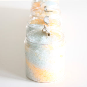 Cedar Citrus and Sage Ritual Bath Salts. Detoxifying Salt Soak.