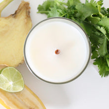 Load image into Gallery viewer, CARTAGENA Hand Poured Candle. Pineapple. Cilantro. Coconut. Banana. 7 oz.