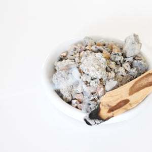Palo Santo Resin. Natural Incense. Holy Wood Resin. Space + Energy Clearing. Charcoal Rounds Included.