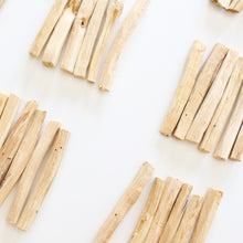 Load image into Gallery viewer, Palo Santo Stick. Natural Incense. Holy Wood. Space + Energy Clearing. Pack of 6. - Lesley Saligoe Botanicals