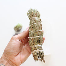Load image into Gallery viewer, Pine Smoke Cleansing Wand. Natural Incense. Uplifting Energetic Hygiene. - Lesley Saligoe Botanicals