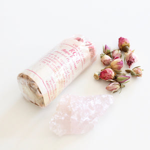 Rose Rope Incense. Fragrant Natural Incense. Space and Energy Cleansing. One Package of 45. - Lesley Saligoe Botanicals