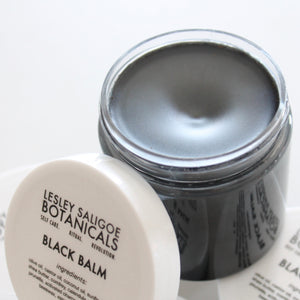 Black Balm. Herb Infused Drawing Salve. All Natural Healing Cream. - Lesley Saligoe Botanicals