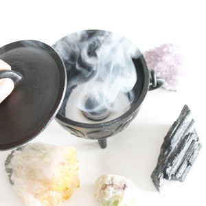 Charcoal Disks. Swiftlite. Incense Burning. Smudging Resins Herbs and Incense. 10 per Roll. 33mm. - Lesley Saligoe Botanicals