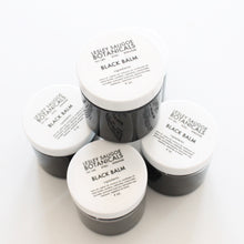 Load image into Gallery viewer, Black Balm. Herb Infused Drawing Salve. All Natural Healing Cream. - Lesley Saligoe Botanicals