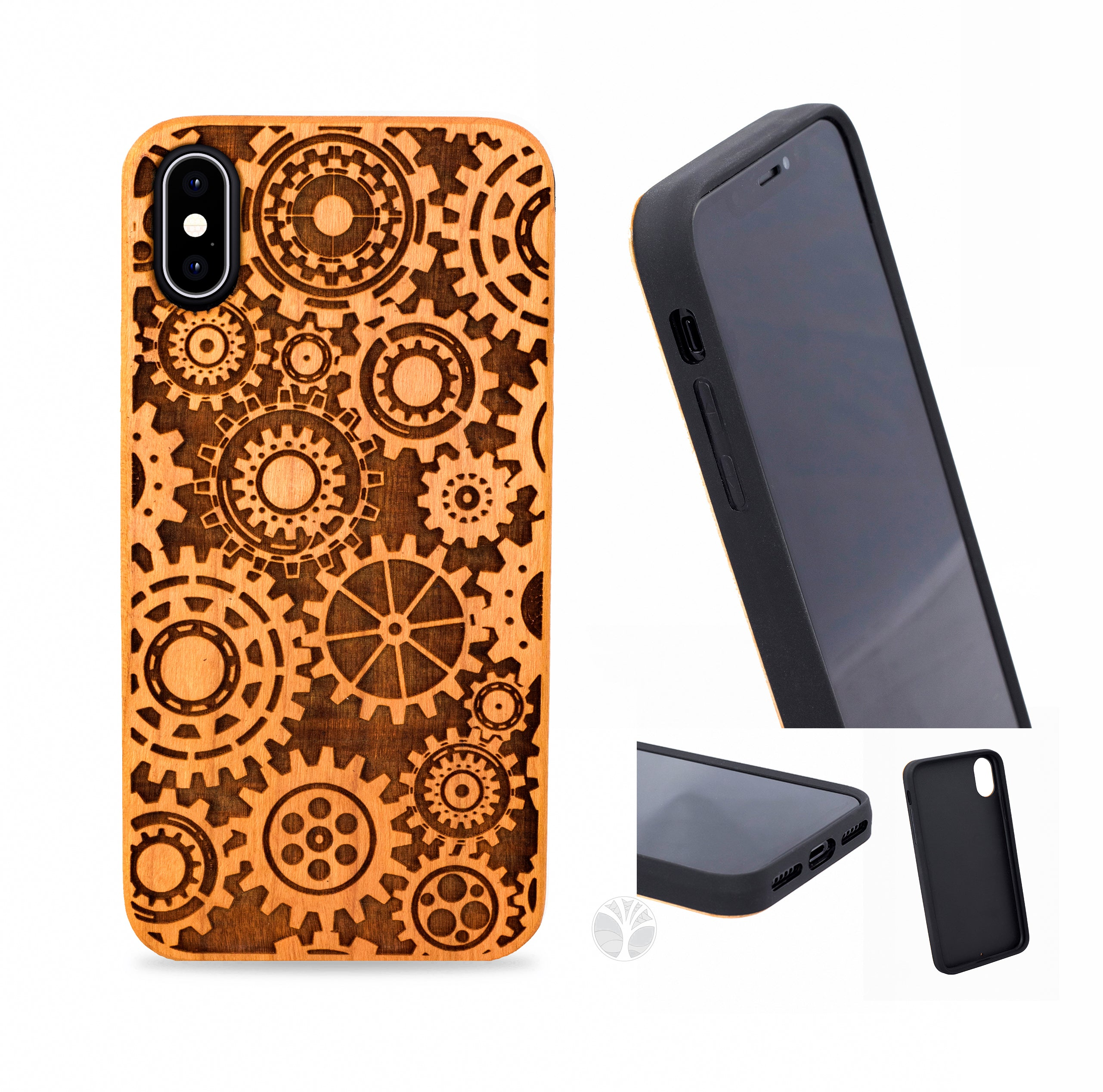"""COGS"" Wood phone case '"