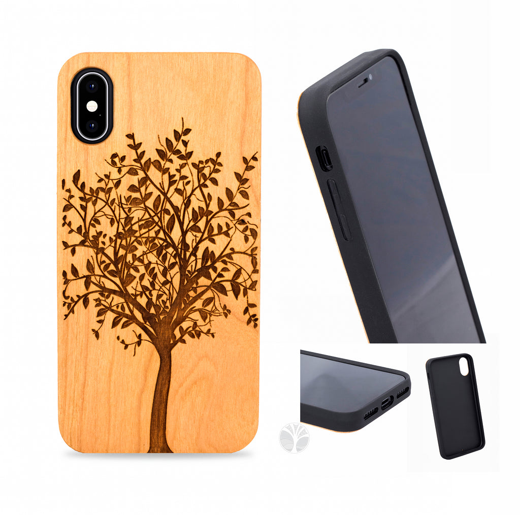 """TREE"" Wood phone case"
