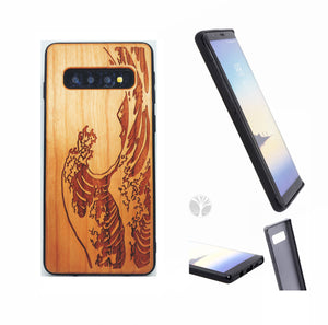 """WAVE"" Wood phone case"