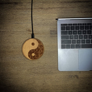 "Wireless Charging Pad ""Ying Yang"""