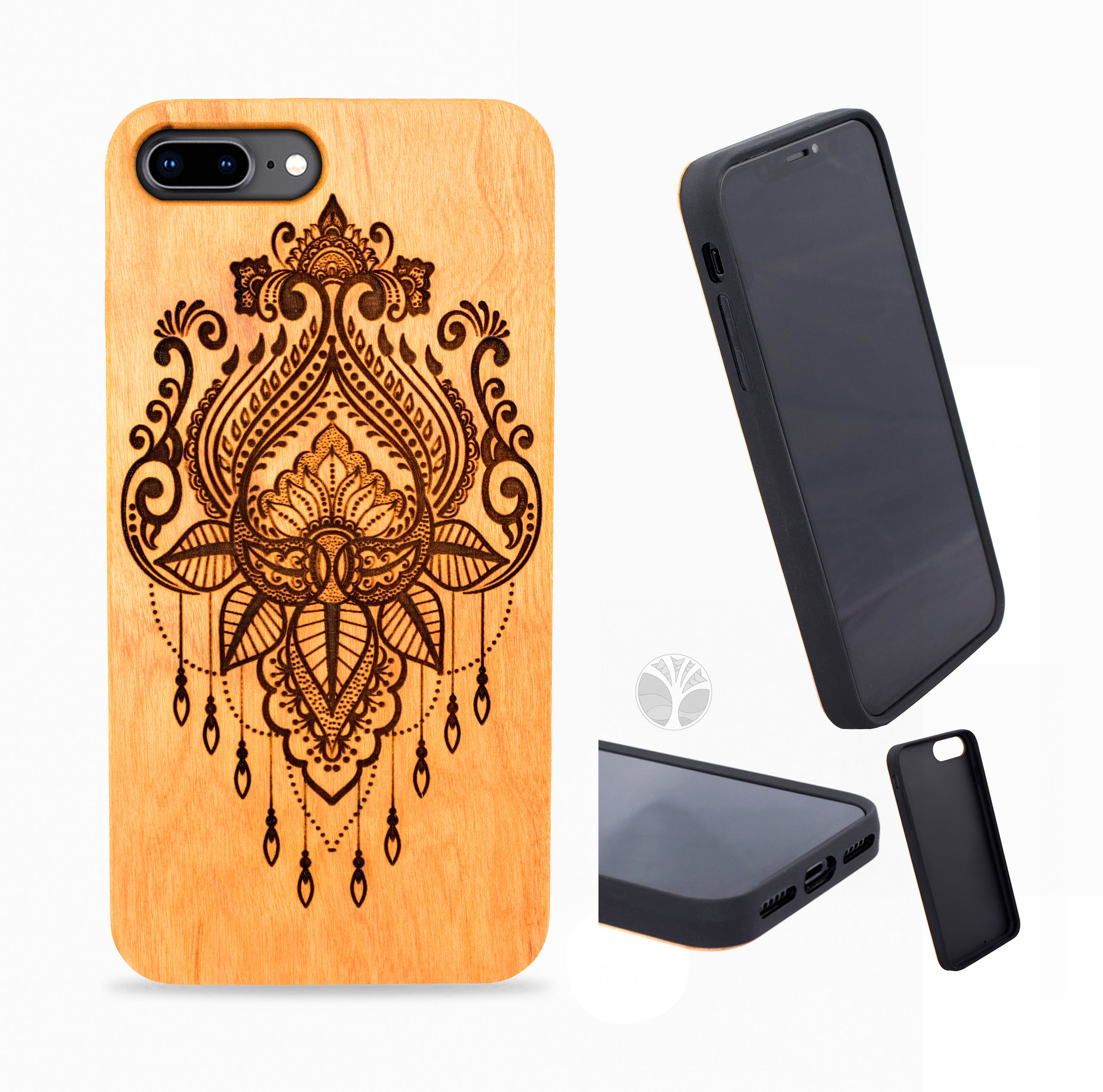 """MOROCCAN"" Wood phone case"