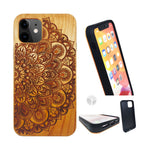 """MANDALA"" Wood phone case"