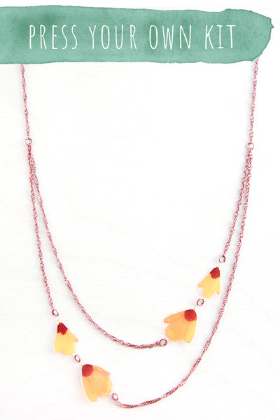 Press Your Own Kit - Flower Necklace