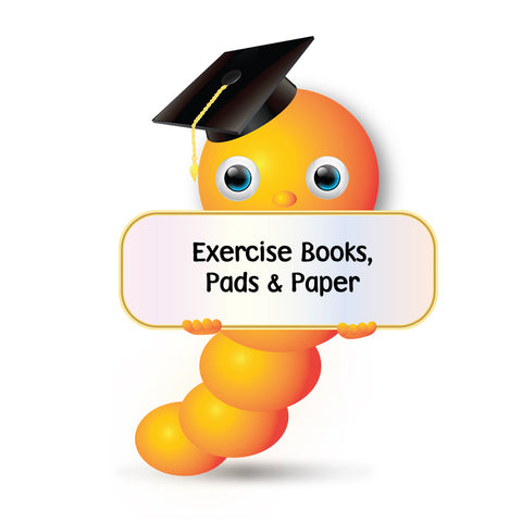 Exercise Books, Pads & Paper