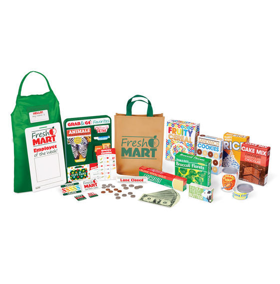 Fresh Mart Grocery Store Collection Melissa & Doug Role Play- BibiBuzz