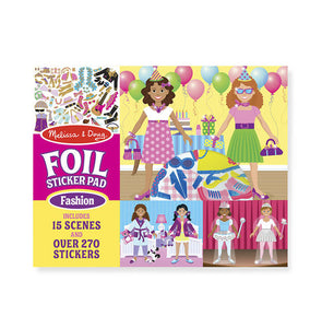 Foil Sticker Pad - Fashion Melissa & Doug Activities- BibiBuzz