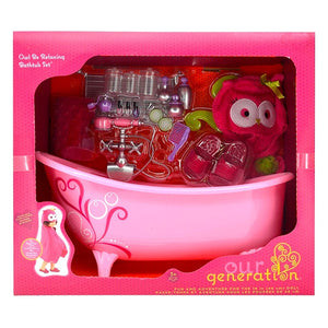 Deluxe Owl Be Relaxing Bathtub Playset