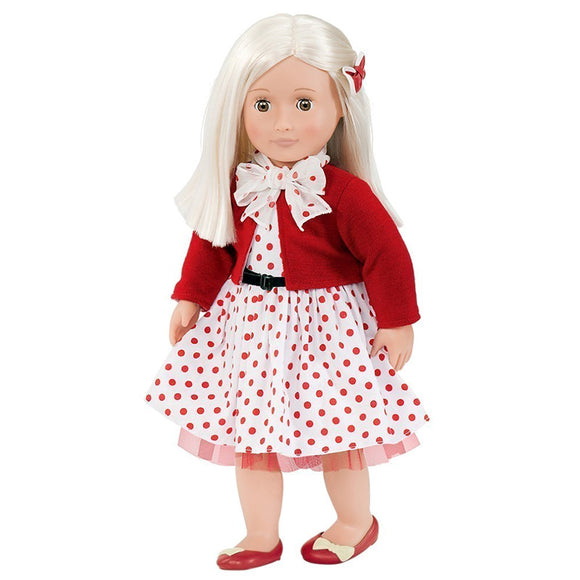 Classic Doll Retro Rose 18 Inch Blonde Our Generation Dolls- BibiBuzz