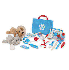 Examine and Treat Pet Vet Play Set Melissa & Doug Role Play- BibiBuzz