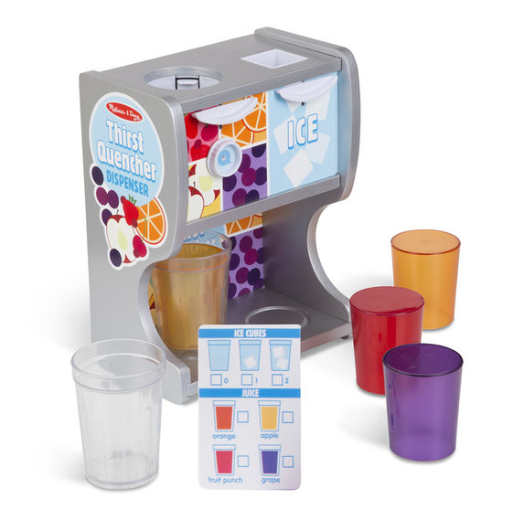 Thirst Quencher Dispenser Melissa & Doug Pretend Play- BibiBuzz