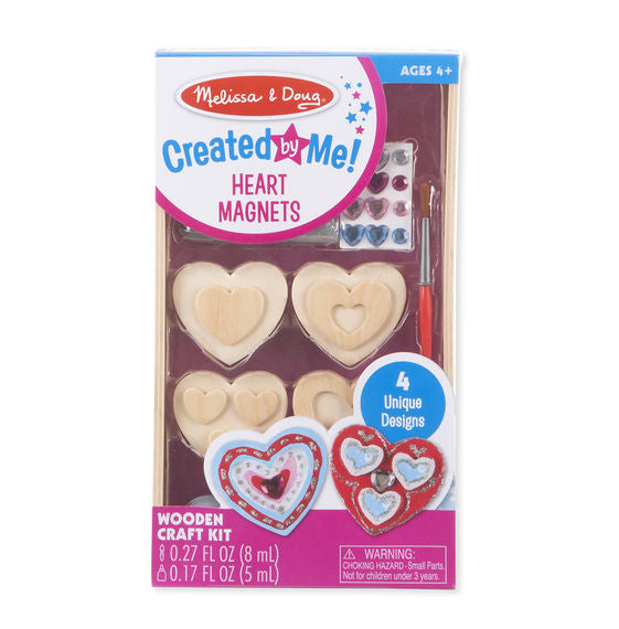 Heart Magnets Melissa & Doug Creative Crafts- BibiBuzz