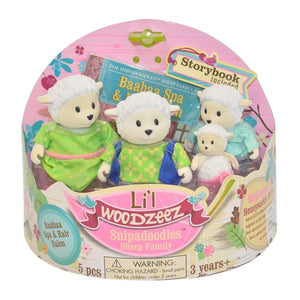 Li'l Woodzeez Sheep Family Li'l Woodzeez Pretend Play- BibiBuzz