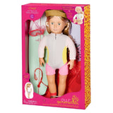 Deluxe Doll Coral 18 Inch Blonde Our Generation Dolls- BibiBuzz