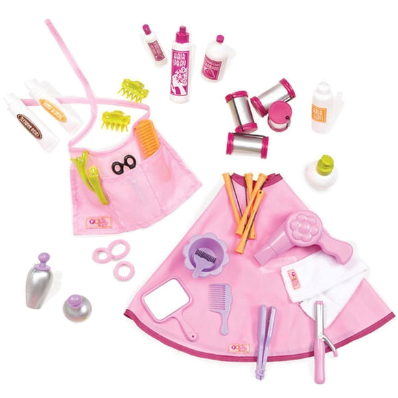 Deluxe Berry Nice Salon Playset Our Generation Doll Accessories- BibiBuzz