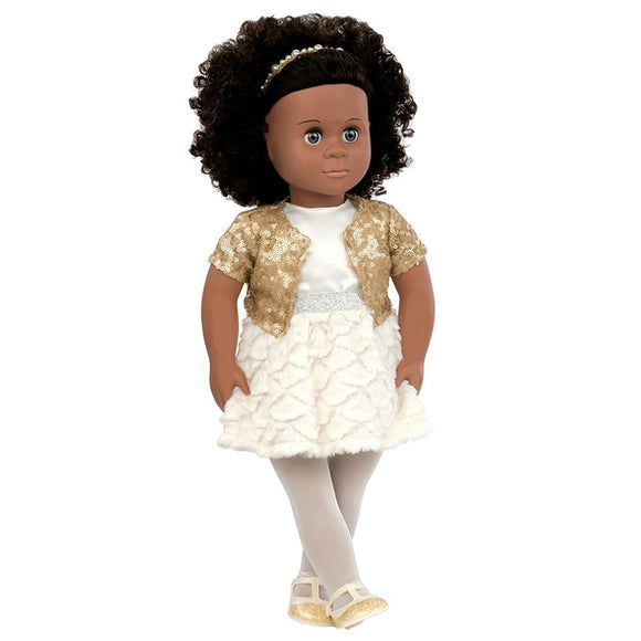 Classic Doll Holiday Haven 18 Inch Ethnic Our Generation Dolls- BibiBuzz