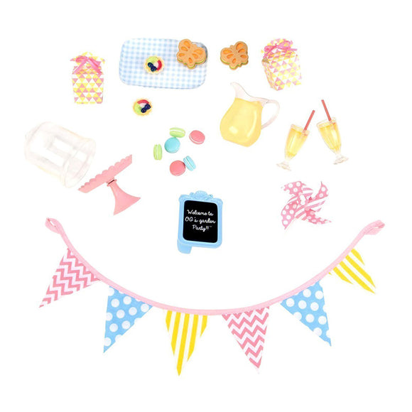 Classic Garden Party Playset Our Generation Doll Accessories- BibiBuzz