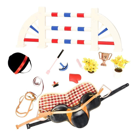 Classic Equestrian Style Playset Our Generation Doll Accessories- BibiBuzz