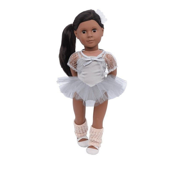 Classic Doll Nia 18 Inch Brunette Our Generation Dolls- BibiBuzz