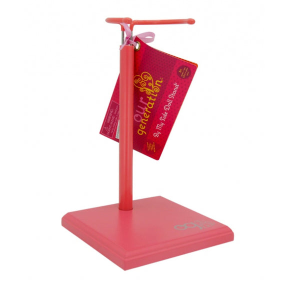By My Side Doll Stand - Pink Our Generation Doll Accessories- BibiBuzz