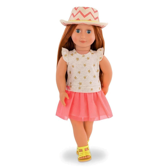 Classic Doll Clementine 18 Inch Redhead Our Generation Dolls- BibiBuzz