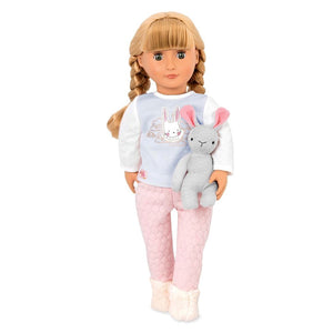 Classic Doll Jovie 18 Inch Blonde Our Generation Dolls- BibiBuzz
