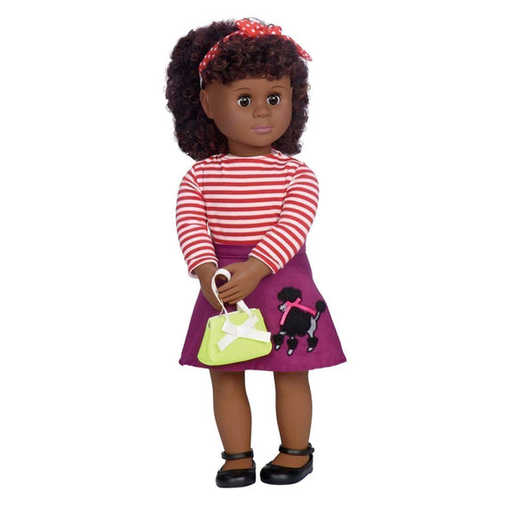 Classic Doll Retro Cecee 18 Inch Ethnic Our Generation Dolls- BibiBuzz