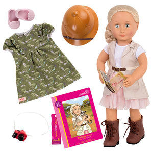 Deluxe Doll Naya 18 Inch Blonde Our Generation Dolls- BibiBuzz