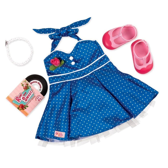 Regular Dress Outfit - Dance Party Our Generation Doll Accessories- BibiBuzz