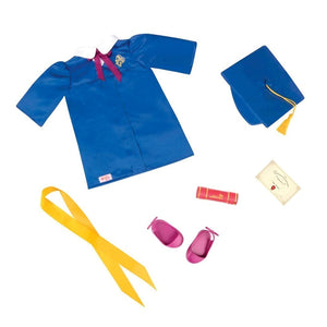Regular Graduation Outfit - Great Grades Our Generation Doll Accessories- BibiBuzz