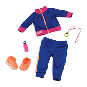 Regular Tracksuit Outfit - Winning Track Our Generation Doll Accessories- BibiBuzz