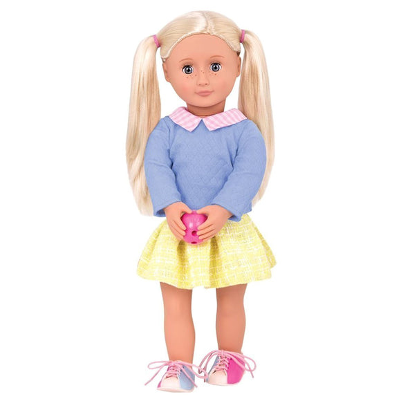 Classic Doll Retro Bonnie Rose 18 Inch Blonde Our Generation Dolls- BibiBuzz
