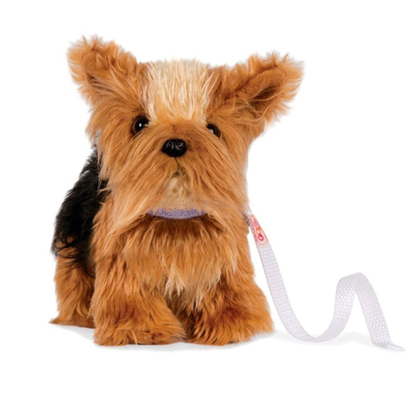 Poseable Pups Yorkshire Terrier 7 Inch Our Generation Doll Accessories- BibiBuzz