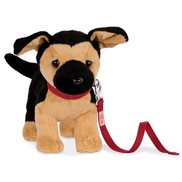 Poseable Pups German Shepherd 7 Inch Our Generation Doll Accessories- BibiBuzz