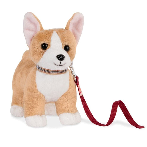 Poseable Pups Corgi 7 Inch Our Generation Doll Accessories- BibiBuzz