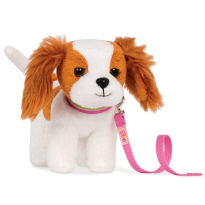 Poseable Pups King Charles Spaniel 7 Inch Our Generation Doll Accessories- BibiBuzz